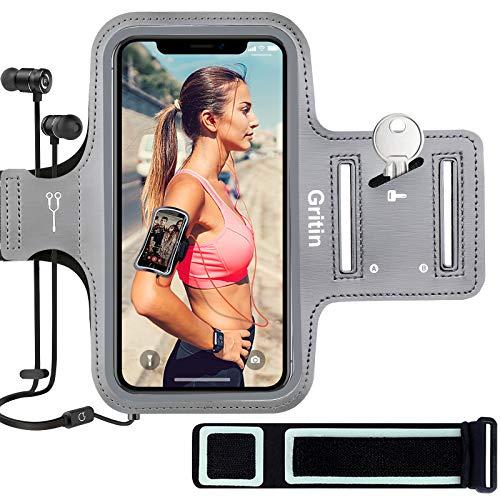 ABCDE Gritin telefoonarmband voor iPhone SE 2020/11/11 Pro/XS/XR/X/8/7/6 Plus tot 6,5 inch, huidvriendelijke…