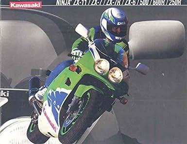 Amazon.com: 1994 Kawasaki Ninja ZX1100 D2 750 L2 M2 600 E2 ...