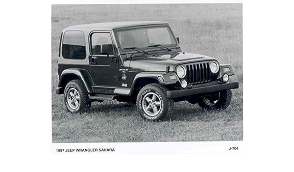 Amazon.com: 1997 Jeep Wrangler Sahara Photograph: Entertainment Collectibles