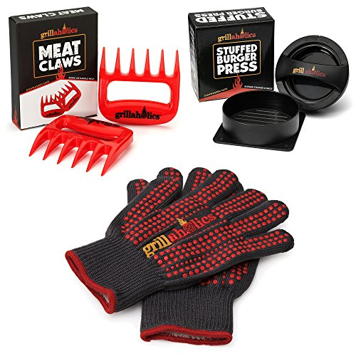 Grillaholics Gift Bundle Barbecue Accessories
