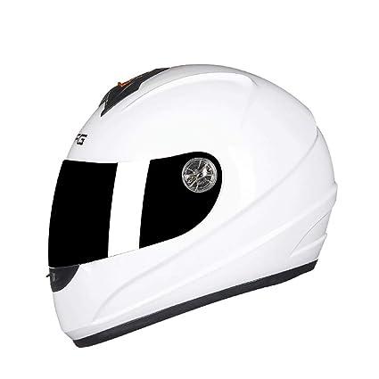 OUTO Casco Desmontable Motocicleta Calidad Multifuncional Forro Diseño de ventilación Fortalecimiento Casco Cuerpo Casco Integral (