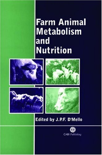 Farm Animal Metabolism and Nutrition by J. P. F. D'Mello - Mall Mello