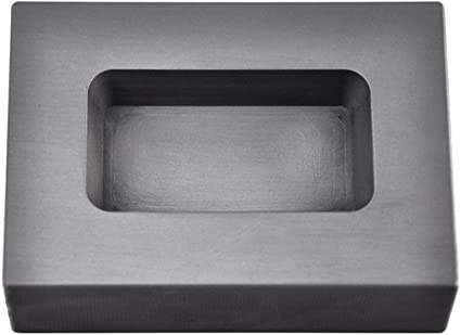 25 oz Troy Ounce Rectangle Gold Graphite Ingot Mold for Melting Casting Refining Scrap Jewelry
