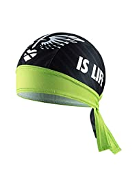 Loriaua Summer Men's Bike Cooling Hat Breathable Cycling Helmet Cap Head Scarf Headband Unisex Sports Headscarf
