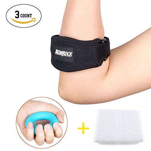 Count Tennis Golfers Elbow Wristband