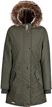 998035889 Regatta Womens/Ladies Saffira Full Length Hooded Jacket (UK Size 12 ...