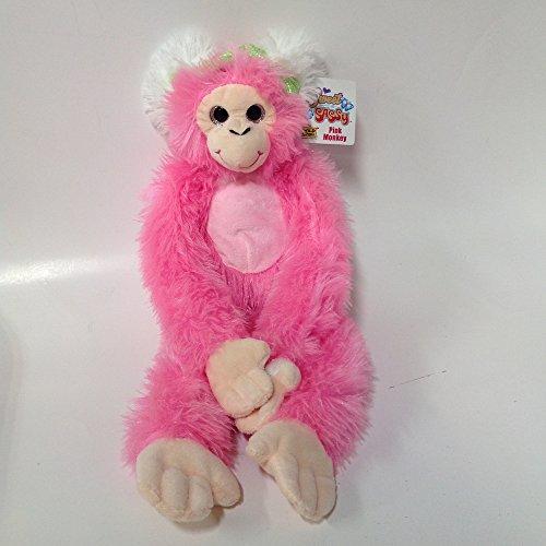 (Wild Republic - Sweet & Sassy - Pink Hanging Monkey 20