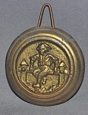 Seth Thomas Pendulum Bob for Mantle or Shelf Clocks