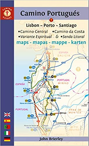 Camino Portugués Maps: Lisbon - Porto - Santiago / Camino ... on dominican republic map, juarez map, punta arenas map, lima map, san juan map, michoacan map, luanda map, chile map, kingston map, caracas map, kabul map, quito map, buenos aires map, bolivia map, andes map, santo domingo map, south america map, montevideo map, rio de janeiro map, torres del paine map,