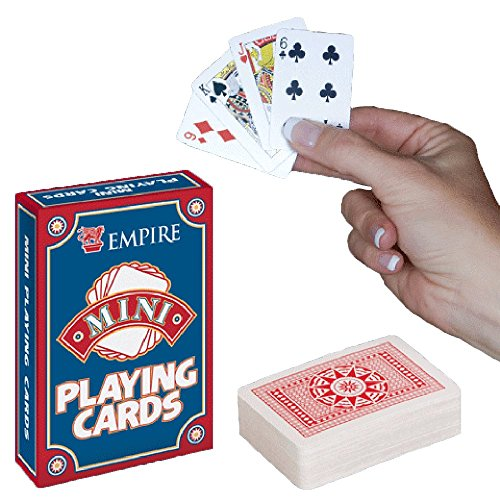 """Miniature 1.5/"""" Card Set 