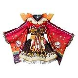 CosplaySky Love Live ! Aqours Maple Leafs Ver Kimono Hanamaru Kunikida Costume X-Large
