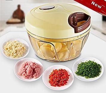 Anokay nuevo mini procesadores de alimentos manual universal procesador de alimentos / multi cutter / mezclador