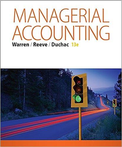 financial accounting 13e answers warren reeve duchac