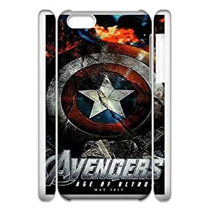 iphone5c Phone Case White Avengers Age Of Ultron DTW8066064