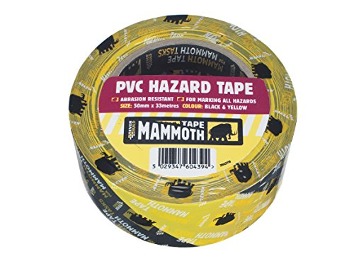 Adhesive CAUTION Marking Barrier Tape 82.02ft x 1.89in Yellow Warning Tape