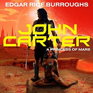 John Carter in 'A Princess of Mars' Audiobook