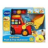 VTech Pop-a-Balls Push and Pop Bulldozer Amazon
