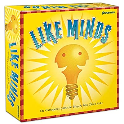 Family Board Games Pressman Toy Corporation Like Minds: Toys & Games [5Bkhe0503117]