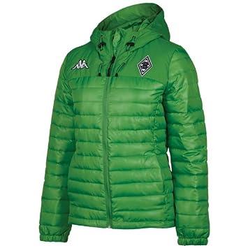 Kappa Jacken Bmg Sparetime Jacket - Chaqueta de plumas para mujer, color verde, talla XL: Amazon.es: Deportes y aire libre