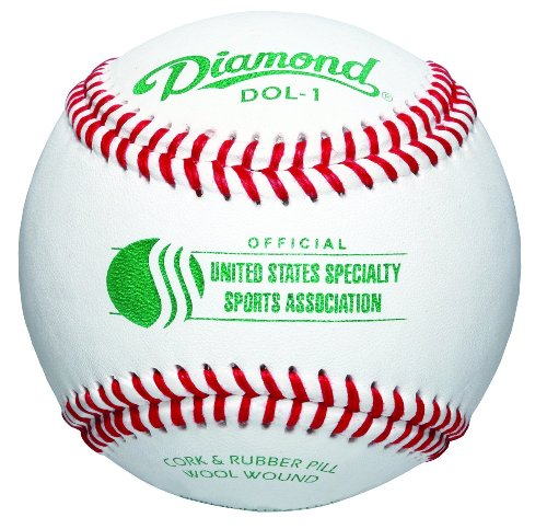Diamond USSSA Select Wool Blend Winding Baseball, Dozen by Diamond Sports