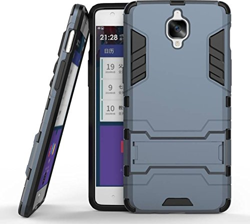 best service 026e6 3f48c Oneplus 3T & Oneplus 3 Shock Proof Armour Case With Kick Stand By GRACIAS