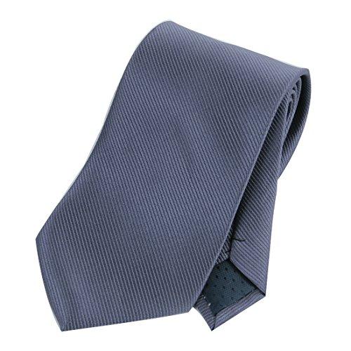 Solid Twill Silk Narrow Tie - 1