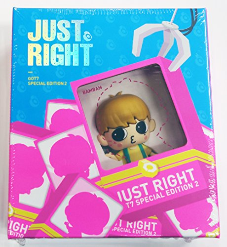 GOT7 - JUST RIGHT Special Edition 2 [Figure USB Album + Out Case] BAMBAM ver. + Extra Gift Photocards Set