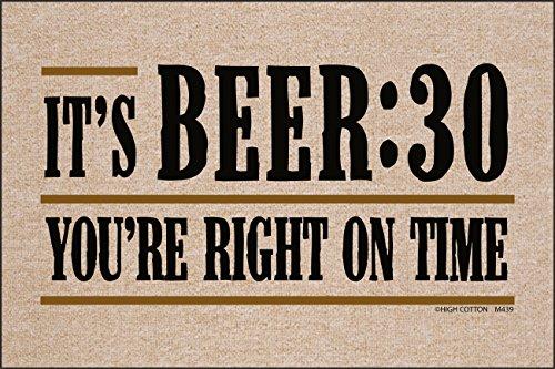 (It's Beer:30 Doormat)