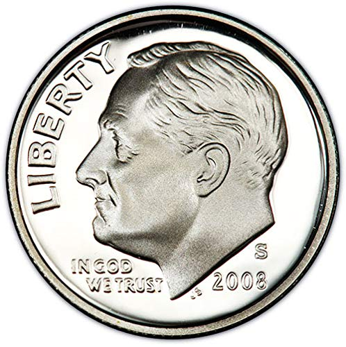 (2008 S silver Proof Roosevelt Dime Choice Uncirculated US Mint)