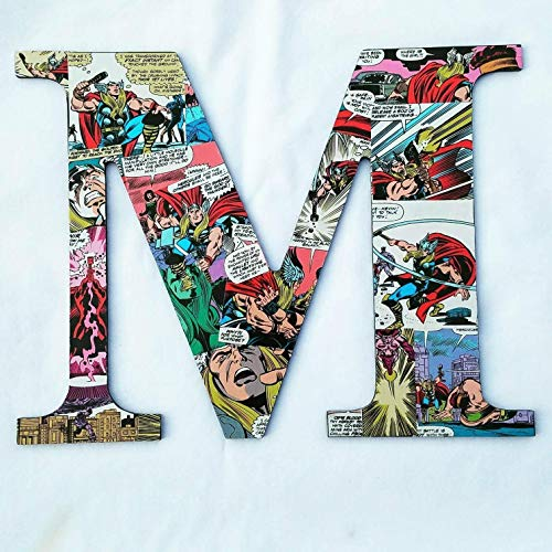 9.5 inch Thor, Avengers, Wall letters, wood names, boys room, Girls room, nursery letters, Decorative letters, baby letters, kids room, customize