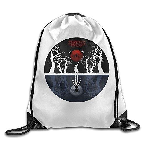 Price comparison product image Stranger Things Art Logo Drawstring Backpack Sack Bag