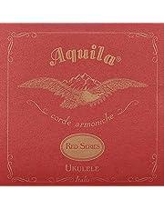 Aquila 83U Sopreana Red Series - Corde armoniche in DO per ukulele, GCEA