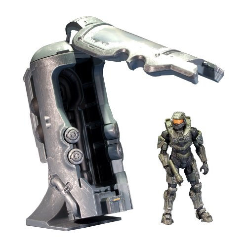 McFarlane Toys Halo 4 Series 1 - Frozen Master Chief with Cryotube Deluxe Figure (Halo 4 Toys)