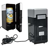 SL&BX Vintage mini usb fridge cooler beverage drink single door mini refrigerator with freezer-B