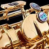 9pcs Sax Key Inlays, Alto/Tenor/Soprano Saxophone