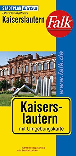 Falk Stadtplan Extra Standardfaltung Kaiserslautern