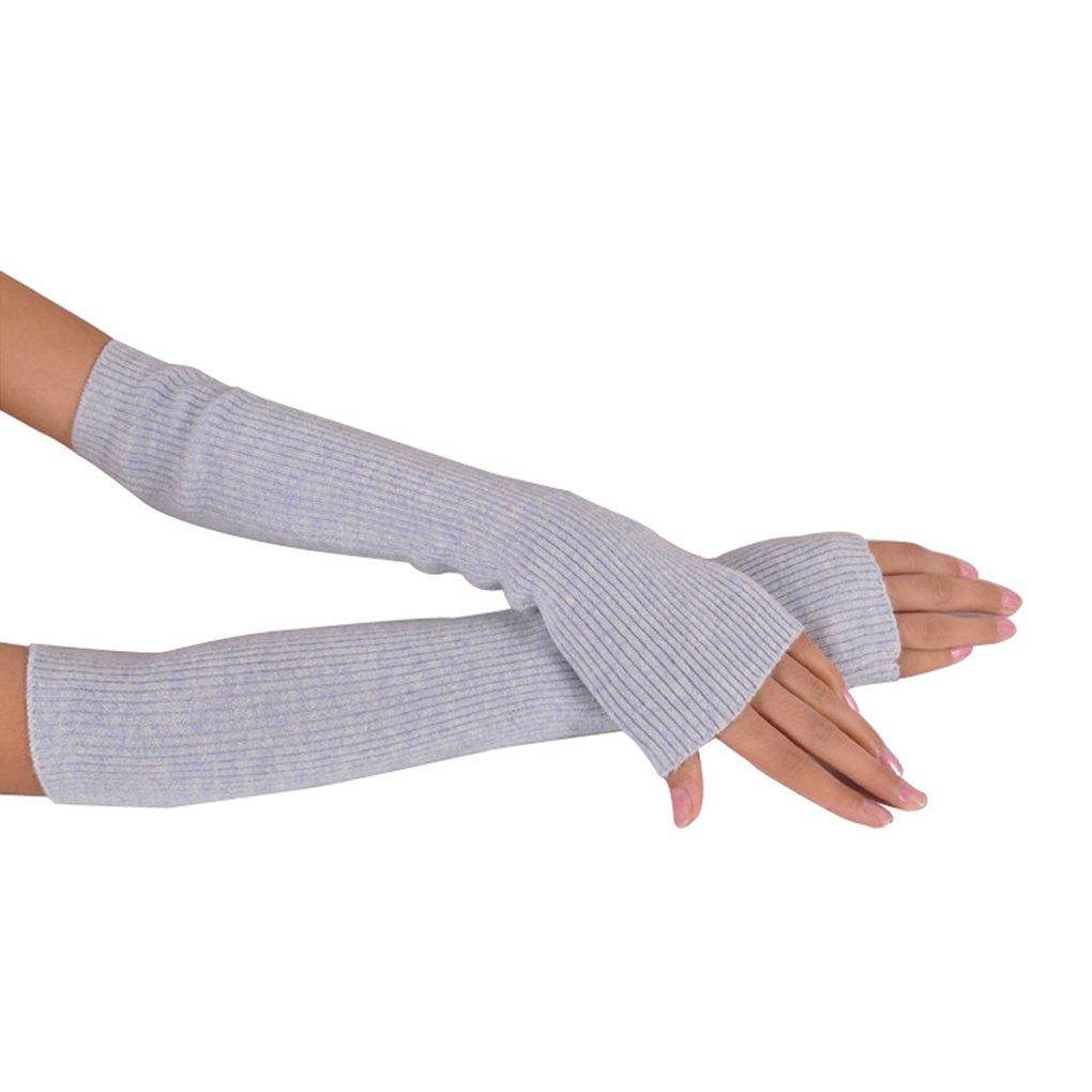 NOVAWO Lana caliente suave Manguitos guantes sin dedos: Amazon.es ...