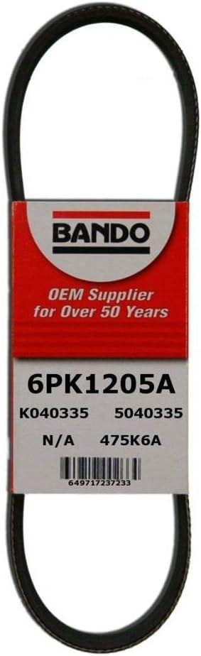 Bando 6PK2910 OEM Quality Serpentine Belt