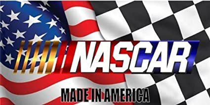 Nascar Made In America Photo License Plate