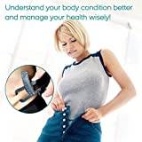 Body Fat Caliper, Fat Measure Clipper Combo with