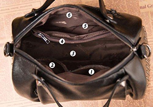 à De Sac Main Toonviolet Messager Shopping Sac Mesdames à Décontracté Sac Rétro Bandoulière x4wI4qvg
