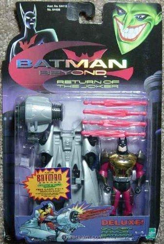 (Batman Beyond Return of the Joker Deluxe Golden Armor Batman with Mobile Assault Cape Action Figure)