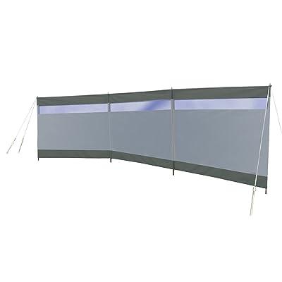 Bo-Camp Paravent - Season avec fenêtre - 3 compartiments - 5 x 1,4 mètres