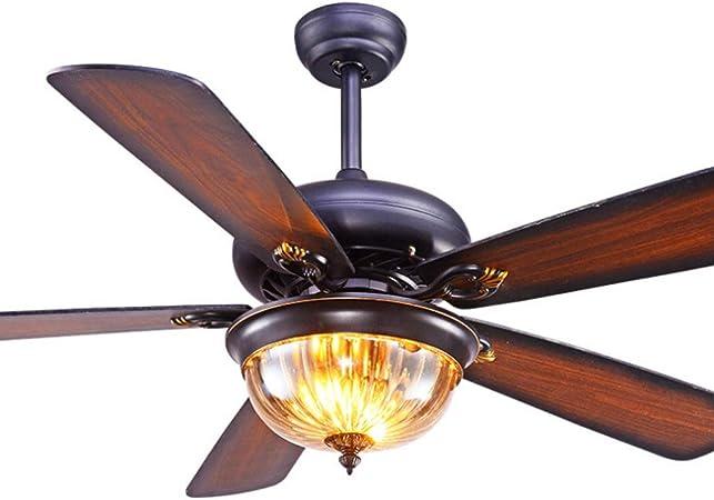 Luz del ventilador Techo moderno ventilador de luz Sala de control ...