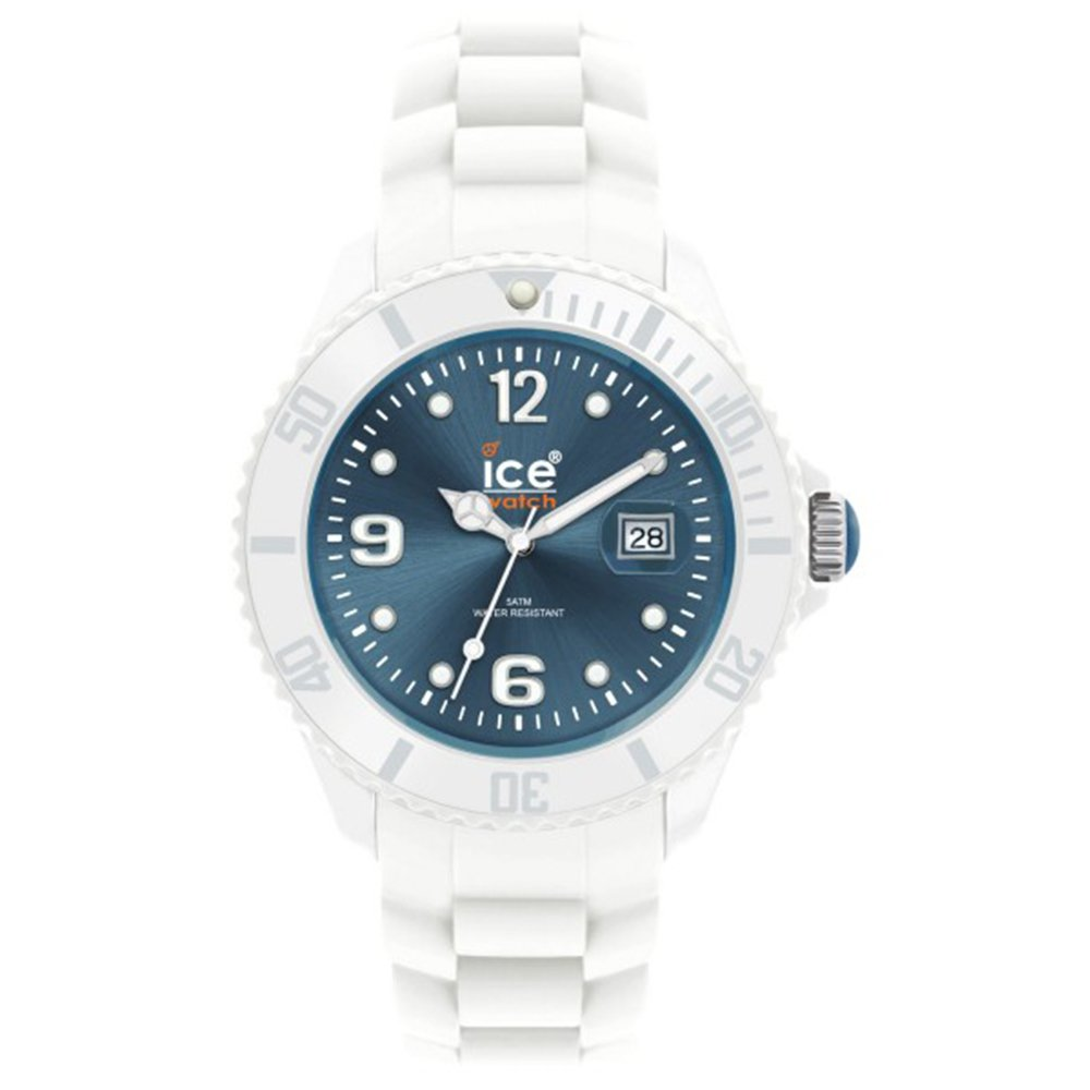 Unisex Sili Blue Dial Plastic by ICE
