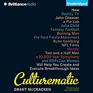 Culturematic Audiobook