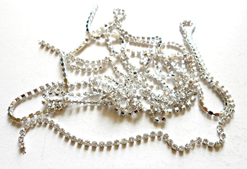 Buy AM Silver Stone Chain for Jewellery Making Online at Low Prices in  India - Amazon.in 2883ba66a