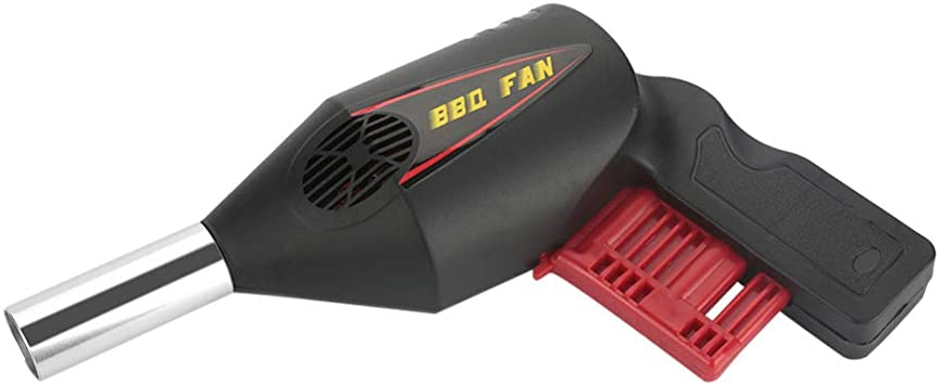 Mifive Herramientas de Ventilador de Barbacoa Port/átil Ventilador BBQ Ventilador BBQ Operado Manual de Soplador de Aire para Acampar Al Aire Libre Picnic Herramienta de Barbacoaa
