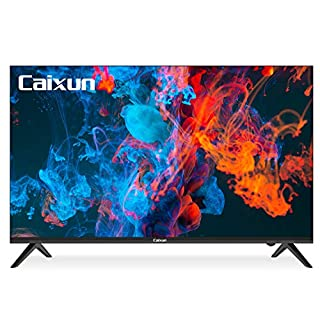 Caixun Android TV 43-Inch Smart LED TV 4K EC43S1UA - Ultra HD Flat Screen Television with HDR10 and Voice Remote - Support Screen Cast,Google Assistant (2020 Model)
