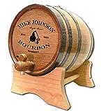 Personalized Copper Still Bourbon 5 Liter White Oak Barrel